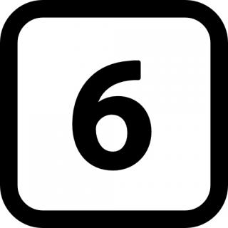 Windows Number 6 For Icons PNG images