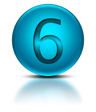 Number 6 Png Icon PNG images