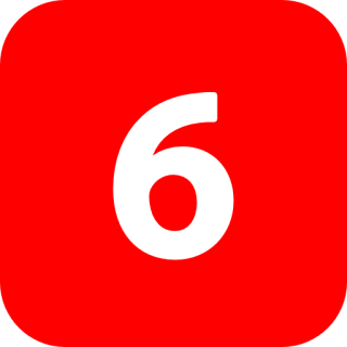 Number 6 Icon Photos PNG images