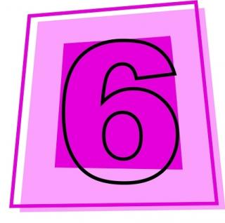 Number 6 Icon Svg PNG images