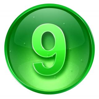Number 9 Save Icon Format PNG images