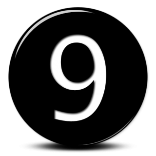 Icon Svg Number 9 PNG images