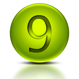 Png Number 9 Icon PNG images