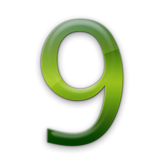 Drawing Icon Number 9 PNG images
