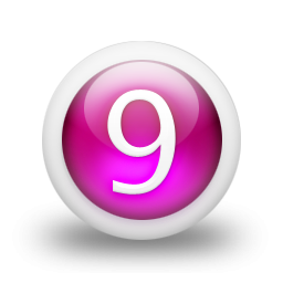 Free Png Download Vector Number 9 PNG images