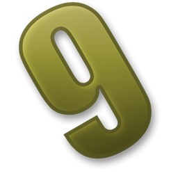 Icon Number 9 Transparent PNG images