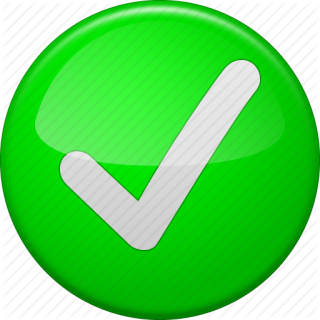 Check, Confirm, Ok Button, Tick, Yes Icon PNG images
