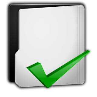Grey Folder Options Icon PNG images
