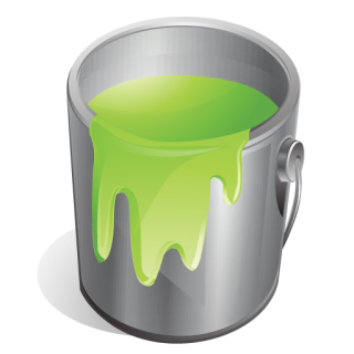 Green, Paint Icon PNG images