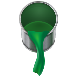 Paint Bucket Can Icon PNG images