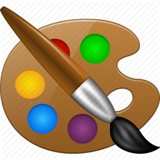 Paint Tools, Paintbrush, Painter, Template Icon PNG images