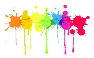 Colorful, Paint, Splatter Image PNG images