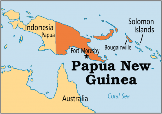 Pictures Papua New Guinea Map World Image PNG images
