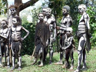 Real Ghouls Haunt Papua New Guinea PNG images
