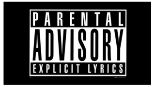 Black Background, Advisory Logo Parental Advisory PNG images