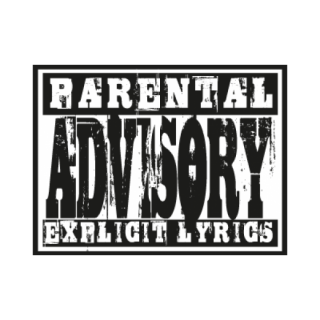 Parental Advisory Lyrics Logo Png PNG images