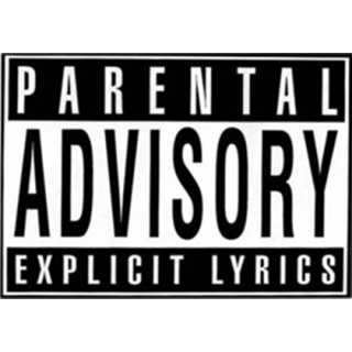 Parental Advisory Png White PNG images