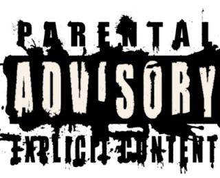 Parental Advisory Vector Png PNG images