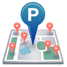 Parking Icon Library PNG images