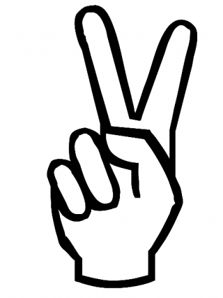 Peace Sign Download Free Images Png PNG images