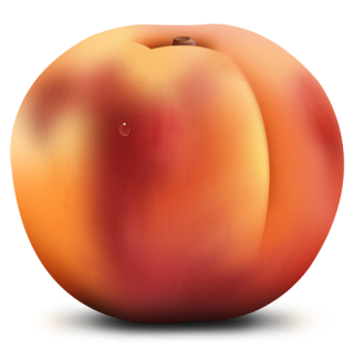 Peach Meal Fruit Food Png PNG images