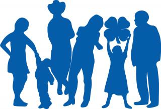 People Icon Blue PNG images
