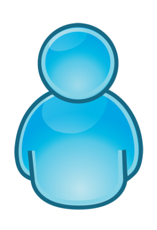 Person Blue Download Icons Png PNG images