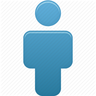 Icon Person Blue Pictures PNG images