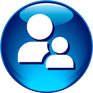 Icon Download Person Blue Png PNG images