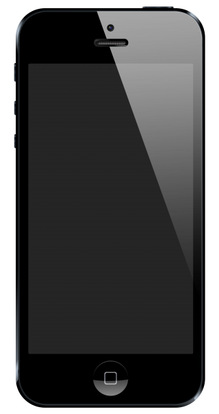 IPhone Black Phone PNG Image PNG images