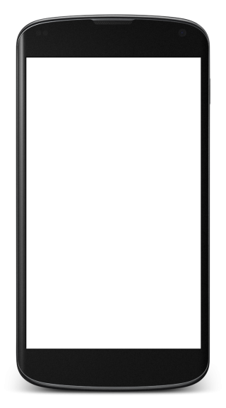 Transparent Phone Screen Blank Png Image PNG images