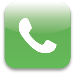 Green Phone Icon Square PNG images