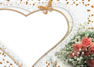 Heart Photo Frame Png PNG images