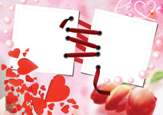 Love Frame Photoshop Background Png PNG images