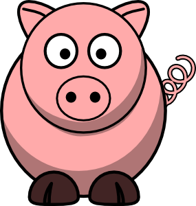 Icon Pig Library PNG images