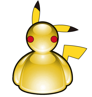 Pikachu Vector Drawing PNG images
