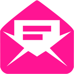 Pink Read Message Icon PNG images