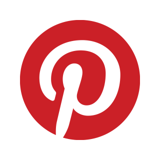 Pinterest Red Badge Icon PNG images