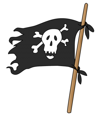 Pirates Flag Png PNG images
