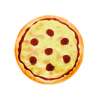Icon Download Pizza PNG images