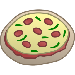 Vector Pizza Drawing PNG images