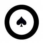 Poker Chip Black Icon PNG images