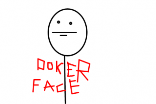 Poker Face Png Available In Different Size PNG images