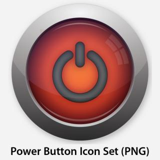 Power Button Icon Symbol PNG images