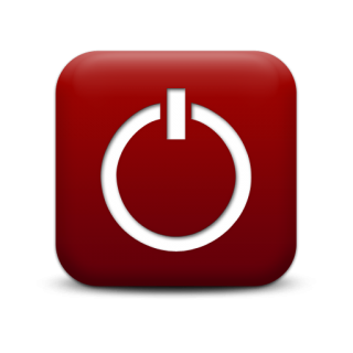 Red Power Button Icon PNG images