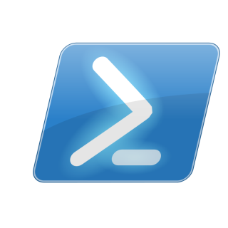 Drawing Powershell Icon PNG images