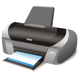 Printer Icon | Large Business Iconset | Aha Soft PNG images