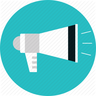 Megaphone, Message, News, Promotion, Speaker Icon PNG images