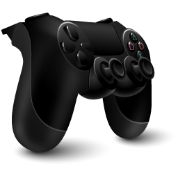 Black 3d Ps4 Controller Icon Png PNG images