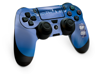 Blue Ps4 Controller Png PNG images